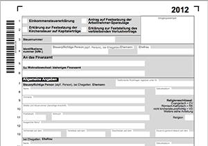 Formulare Fur Die Steuererklarung 2012 Verfugbar Steuer News Meinesteuersoftware De
