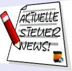 Aktuelle Steuer News