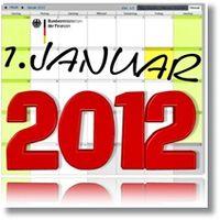 Steueränderungen 2012