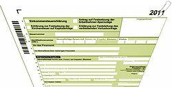 Formulare Einkommensteuererklärung 2011