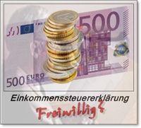 Einkommenssteuererklärung freiwillig